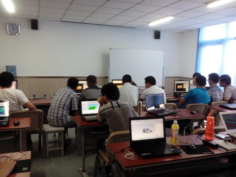 UG编程学习现场
